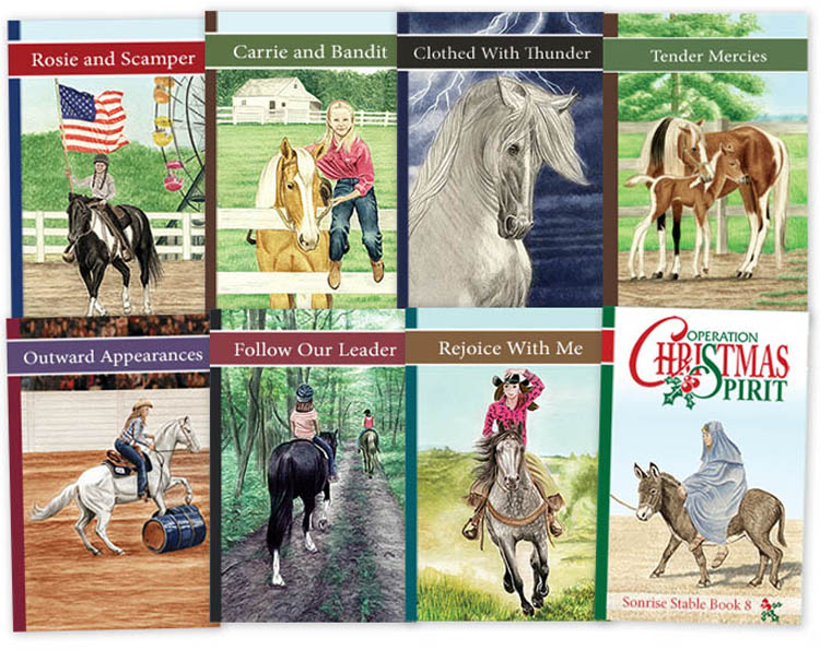 Sonrise Stable Christian Horse Books for Kids