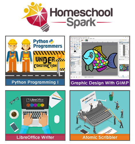 Computer video courses for homeschoolers